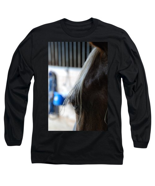 Long Sleeve T-Shirt featuring the photograph Looking Forward by Jennifer Ancker