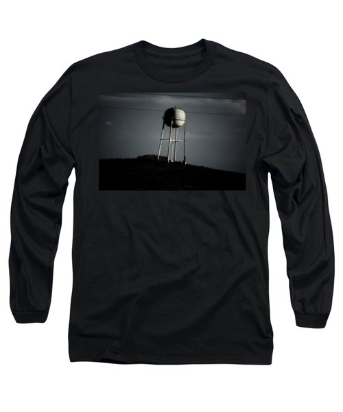 Long Sleeve T-Shirt featuring the photograph Lopsided Tower by Jessica Shelton