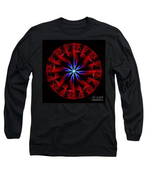 Lost Flames Long Sleeve T-Shirt by Danuta Bennett