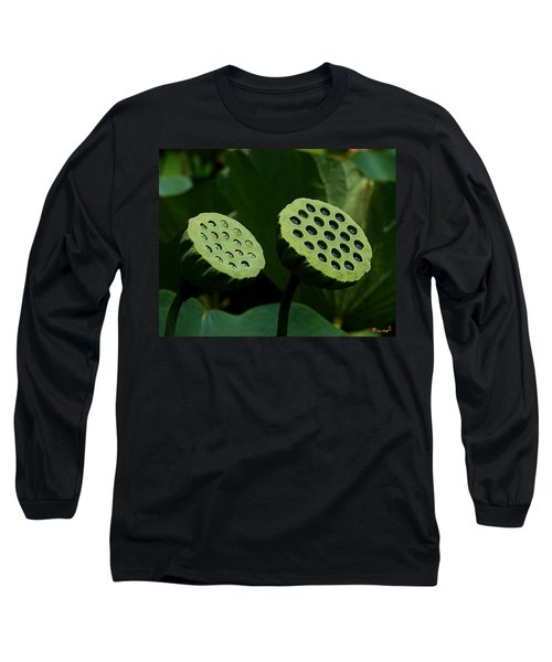 Lotus Capsules-sun Worshipers Dl052 Long Sleeve T-Shirt