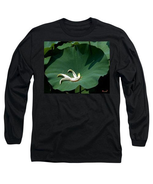 Lotus Leaf--castoff IIi Dl060 Long Sleeve T-Shirt