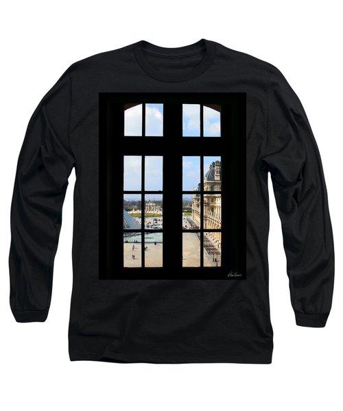 Louvre Window Long Sleeve T-Shirt