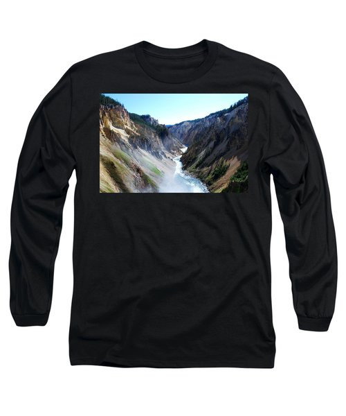 Lower Falls - Yellowstone Long Sleeve T-Shirt