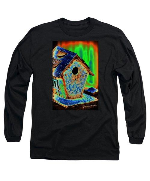 Luminescent Birdhouse Long Sleeve T-Shirt