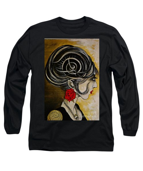 Madame D. Eternal's Dance Long Sleeve T-Shirt by Sandro Ramani