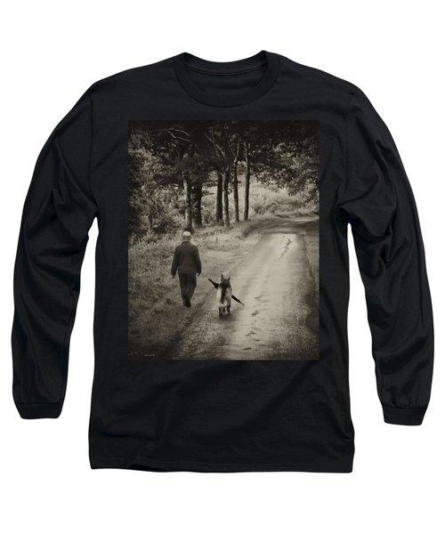 Man's Best Friend Long Sleeve T-Shirt