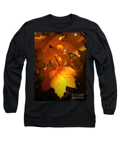 Maple At First Light Long Sleeve T-Shirt