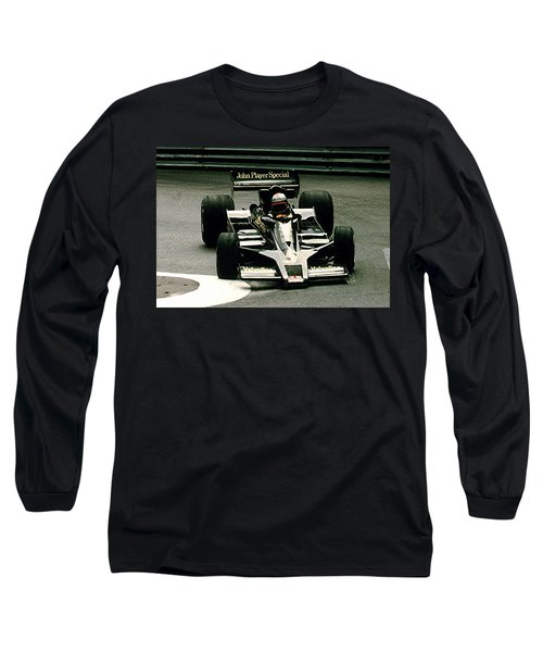 Long Sleeve T-Shirt featuring the photograph Mario World Champ by Michael Nowotny