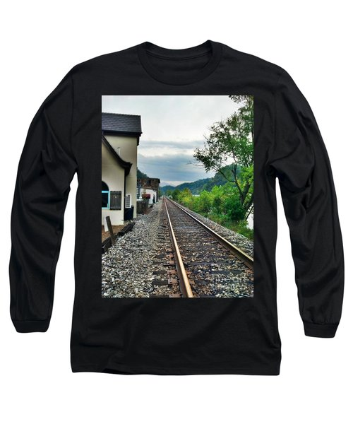 Long Sleeve T-Shirt featuring the photograph Marshall Nc by Janice Spivey