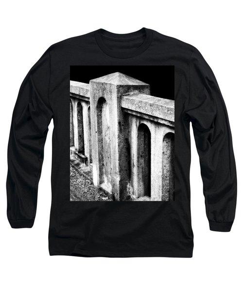 Mary Street Bridge Bristol Virginia Long Sleeve T-Shirt