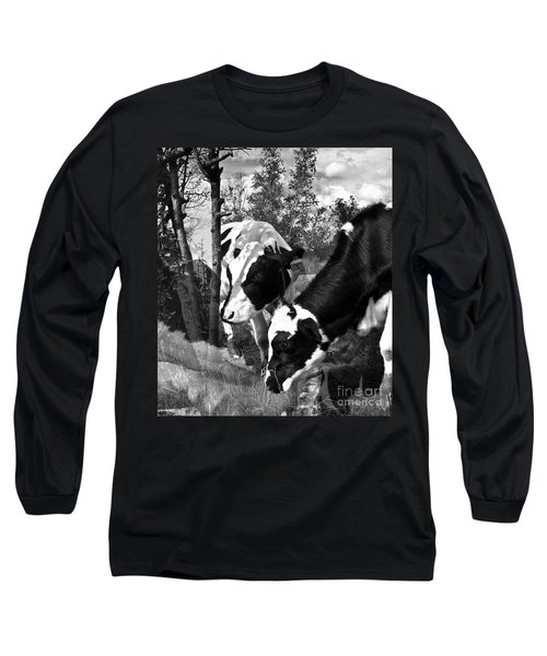 Matilda And Zoey In The Warm Afternoon Sun Long Sleeve T-Shirt