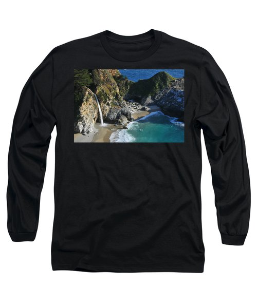 Long Sleeve T-Shirt featuring the photograph Mcway Falls by Lynn Bauer