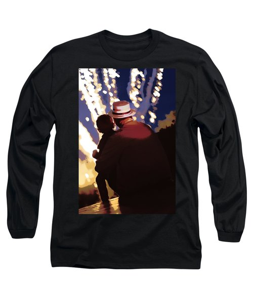 Me And Papa - 4th Of July Long Sleeve T-Shirt