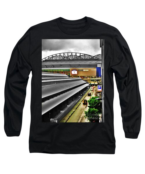 Long Sleeve T-Shirt featuring the photograph Melbourne Docklands by Blair Stuart