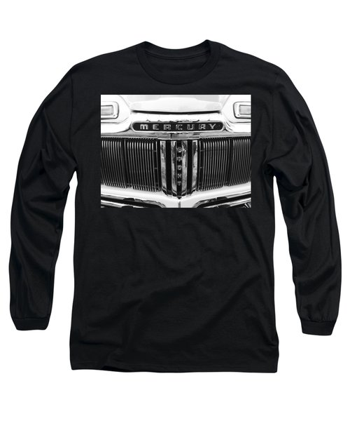 Long Sleeve T-Shirt featuring the photograph Mercury Grill  by Kym Backland