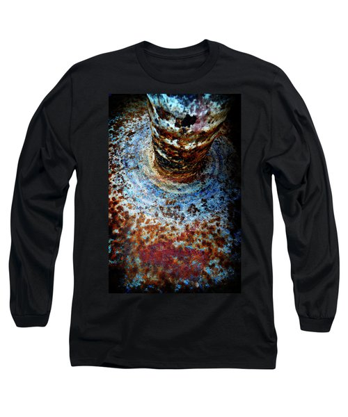 Long Sleeve T-Shirt featuring the photograph Metallic Fluid by Pedro Cardona