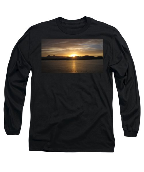 Long Sleeve T-Shirt featuring the photograph Mexican Sunset by Marilyn Wilson