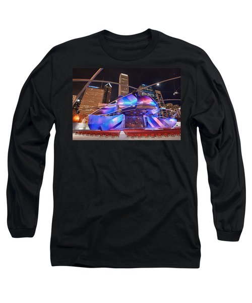 Long Sleeve T-Shirt featuring the photograph Millennium Park by Sebastian Musial