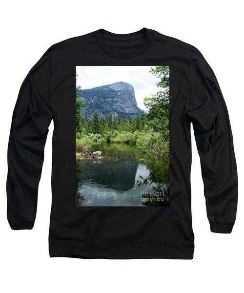 Mirror Lake Long Sleeve T-Shirt by Henrik Lehnerer