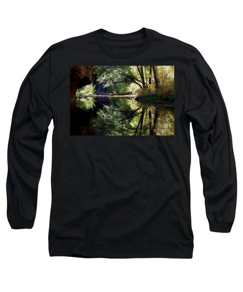 Long Sleeve T-Shirt featuring the photograph Mirror Reflection by Tam Ryan