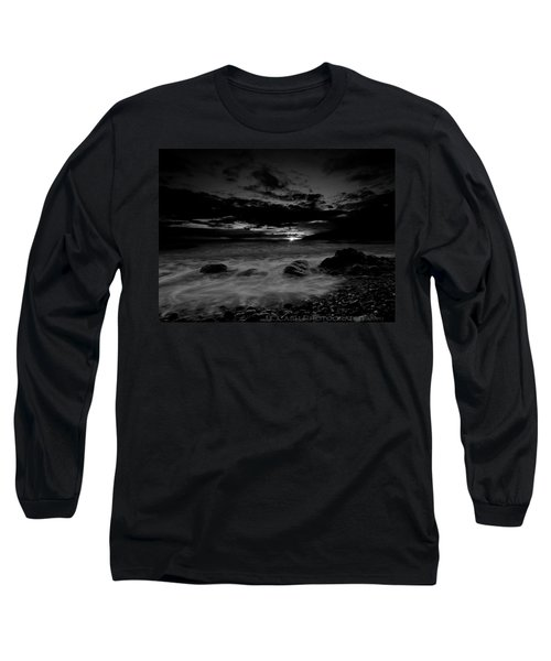 Monochrome Sunset  Long Sleeve T-Shirt