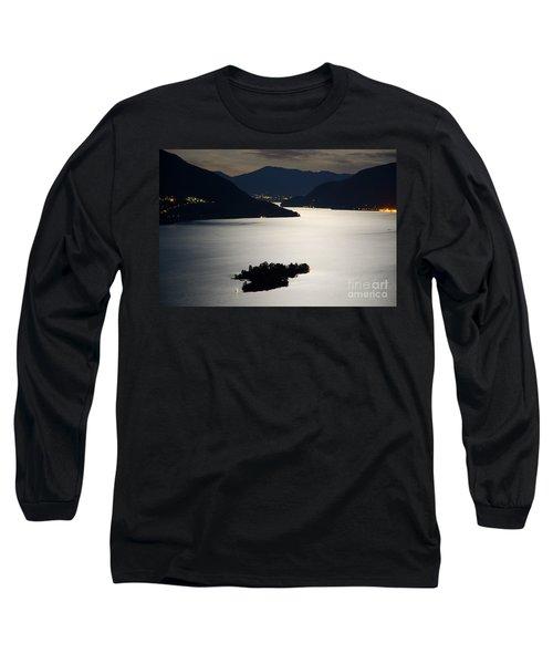 Moon Light Over Islands Long Sleeve T-Shirt