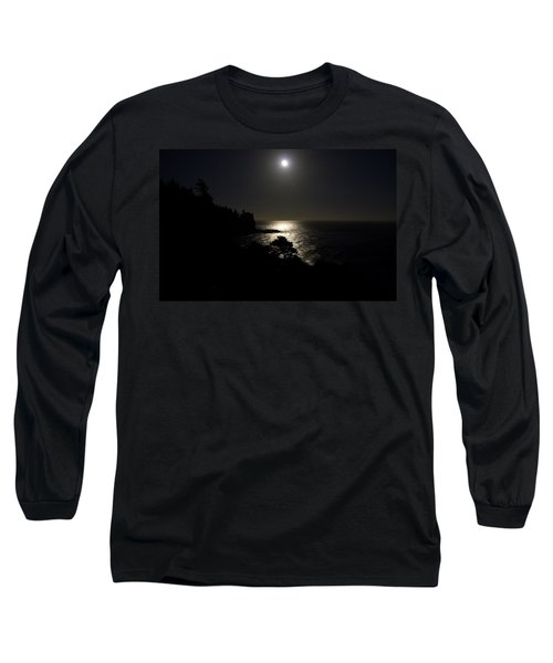 Moon Over Dor Long Sleeve T-Shirt by Brent L Ander