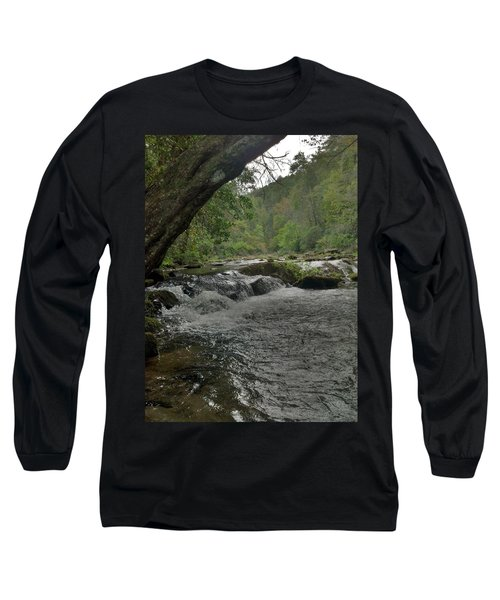 Long Sleeve T-Shirt featuring the photograph Mountain Stream by Janice Spivey