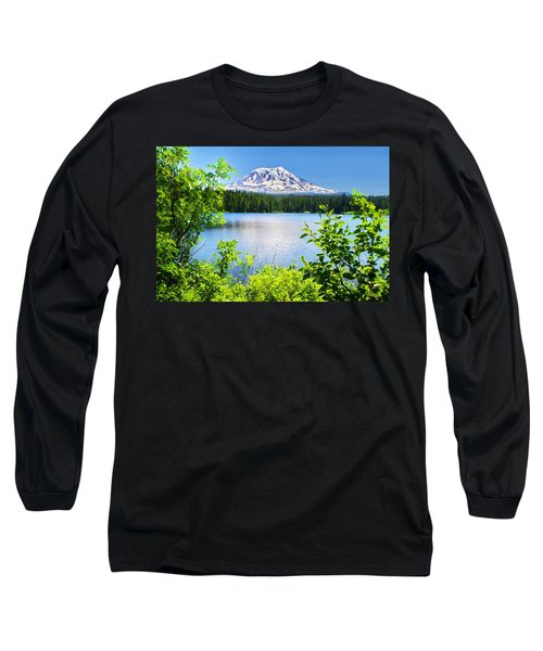 Mt Adams And Takhlakh Lake Long Sleeve T-Shirt