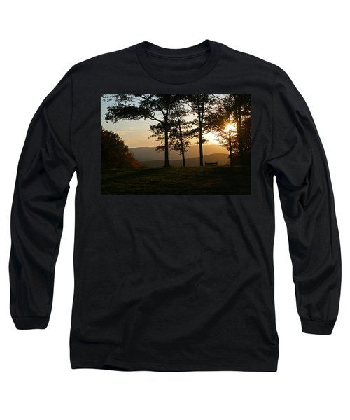 Mt Pisqah Sunset 2 Long Sleeve T-Shirt