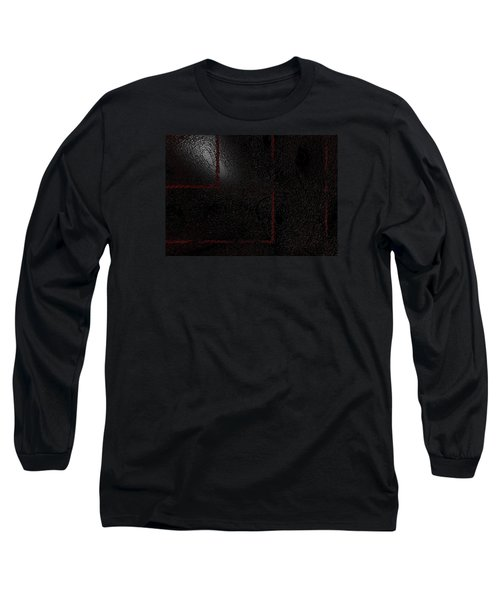 Long Sleeve T-Shirt featuring the digital art Muddy by Jeff Iverson