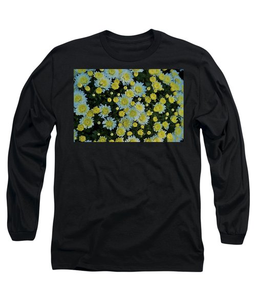 Long Sleeve T-Shirt featuring the photograph Mums by Joseph Yarbrough