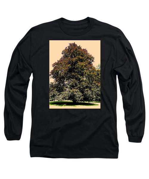 Long Sleeve T-Shirt featuring the photograph My Friend The Tree by Juergen Weiss