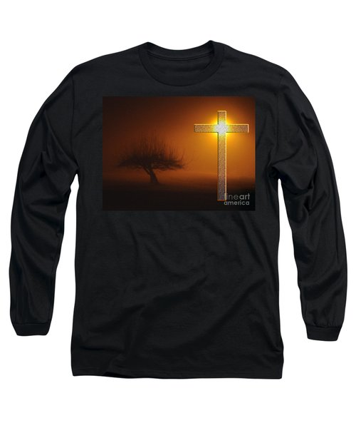 My Life In God's Hands 3 To 4 Ration Long Sleeve T-Shirt by Clayton Bruster