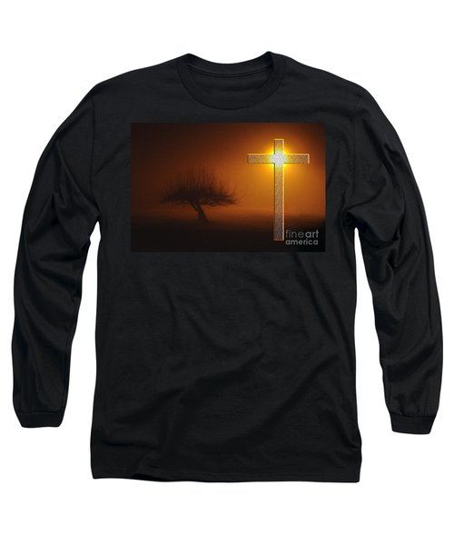 My Life In God's Hands Long Sleeve T-Shirt by Clayton Bruster