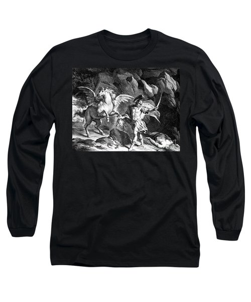 Mythology: Perseus Long Sleeve T-Shirt by Granger