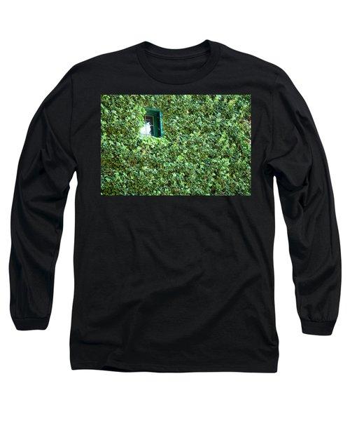 Napa Wine Cellar Window Long Sleeve T-Shirt