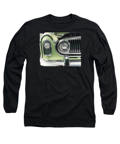 Long Sleeve T-Shirt featuring the photograph Nash Nose by John Schneider