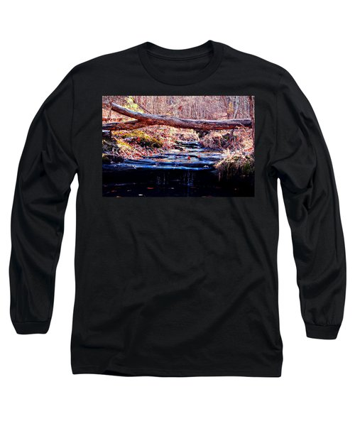 Long Sleeve T-Shirt featuring the photograph Natural Spring Beauty  by Peggy Franz