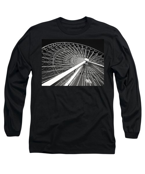 Navy Pier Ferris Wheel Long Sleeve T-Shirt