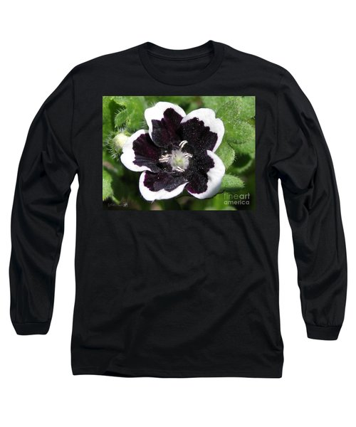 Nemophilia Named Penny Black Long Sleeve T-Shirt by J McCombie