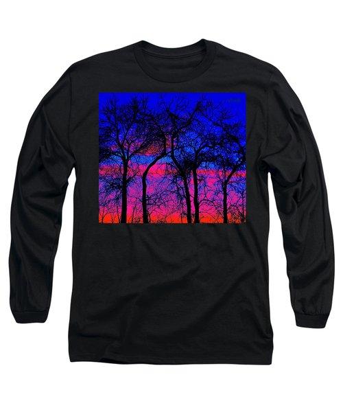 Neon Sky Long Sleeve T-Shirt