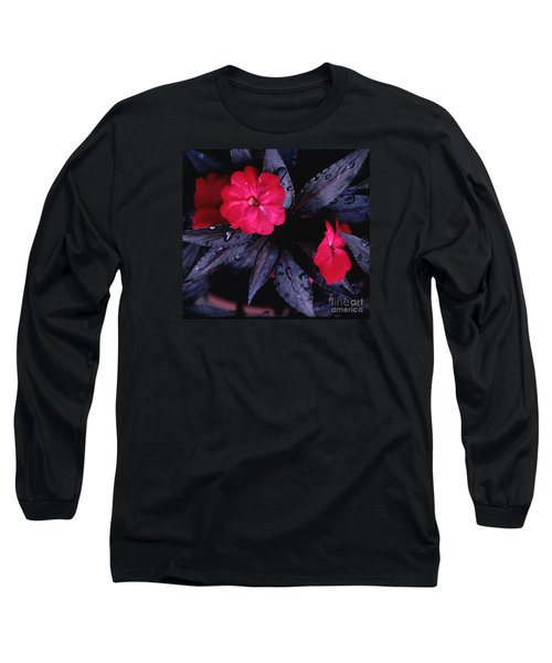 New Guinea Impatiens Long Sleeve T-Shirt