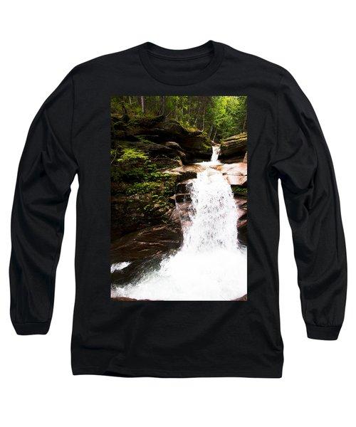 New Hampshire Waterfall Long Sleeve T-Shirt