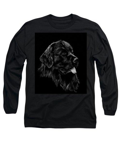 Newfoundland Long Sleeve T-Shirt by Rachel Hames
