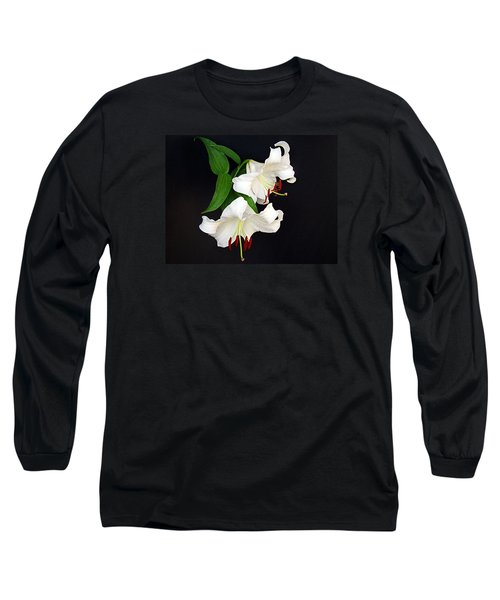 Long Sleeve T-Shirt featuring the photograph Newly Opened by Nick Kloepping