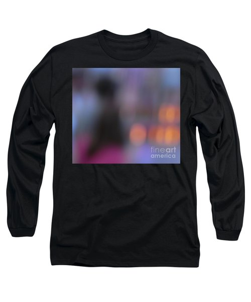 Long Sleeve T-Shirt featuring the photograph Imagine Nightfall At The Funfair by Andy Prendy