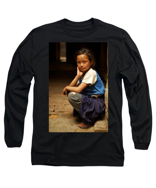Nine Years Old Long Sleeve T-Shirt by Valerie Rosen