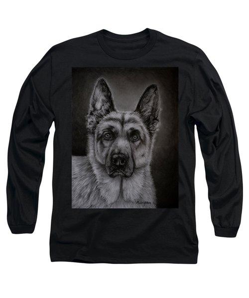 Noble - German Shepherd Dog  Long Sleeve T-Shirt