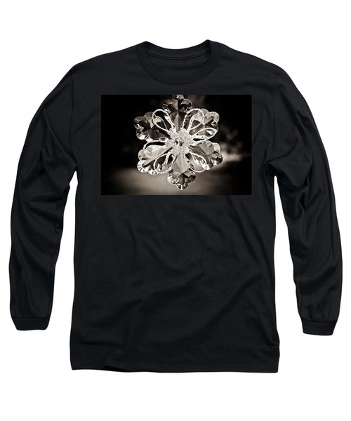 Noir Reflections Long Sleeve T-Shirt by Sara Frank